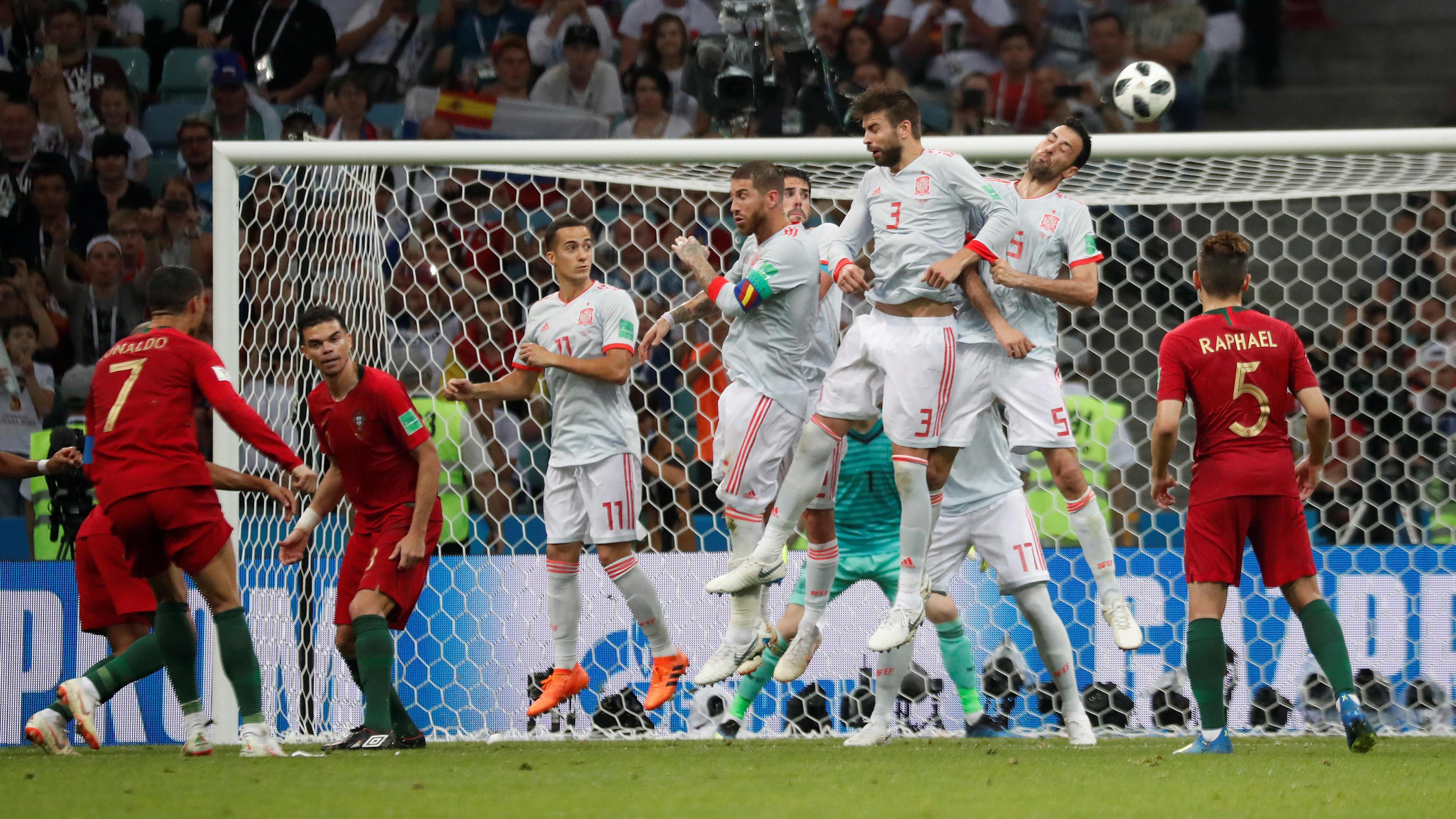 WM-Wahnsinn: Cristiano Ronaldo 3 - Spanien 3