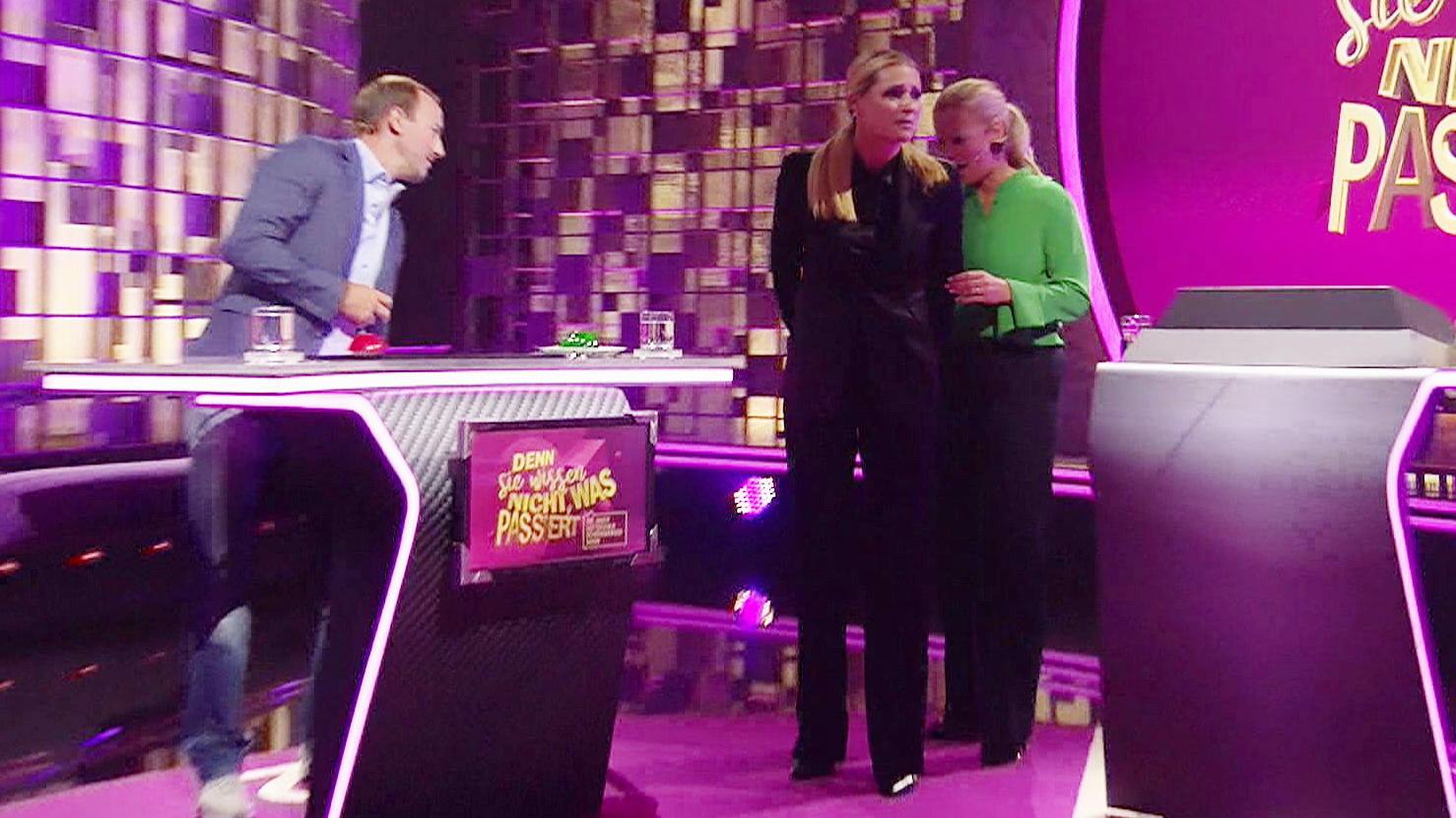 Panne im TV: Michelle Hunziker reißt die Hose vor laufender Kamera