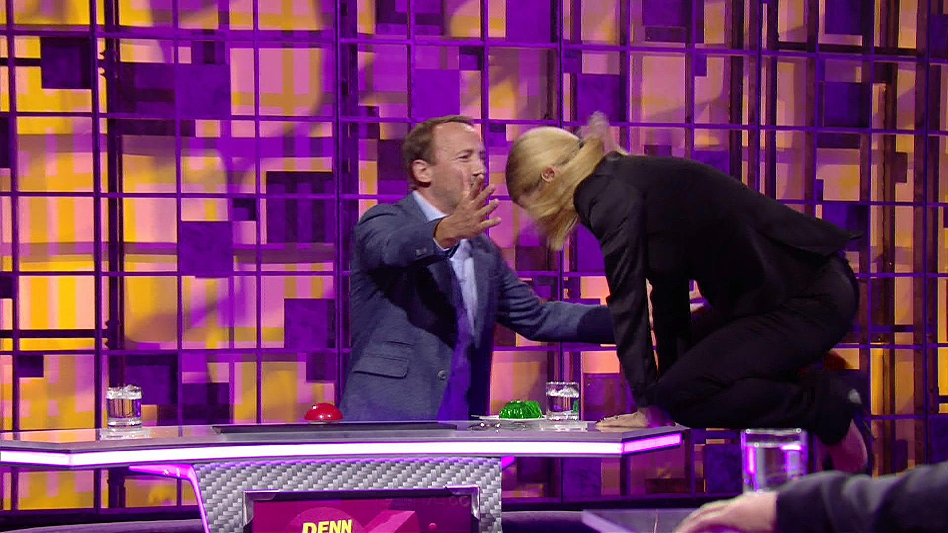 Michelle Hunziker: Höschen-Blamage! Moderatorin platzt die Hose in RTL-Show