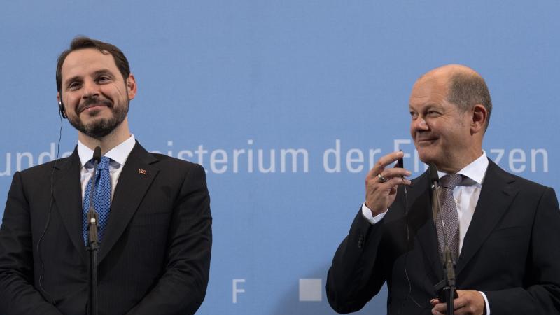 Türkischer Finanzminister: Albayrak: Neue Ära in Beziehungen zu Deutschland