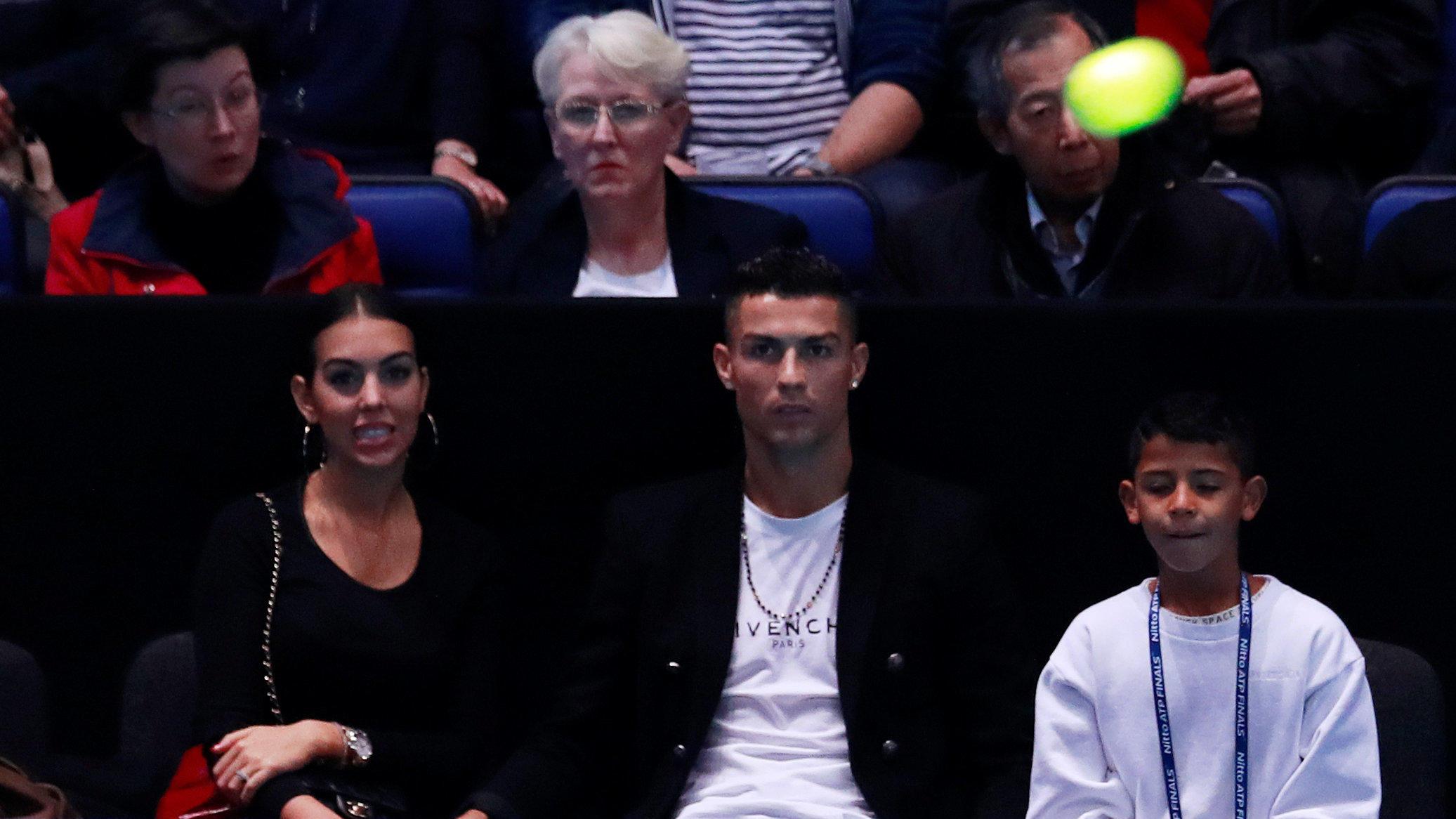 Cristiano Ronaldo patzt bei Tennis-Parade — ATP Finals
