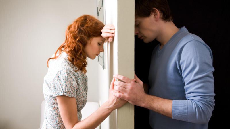 Scheidung Schmerz und Leiden