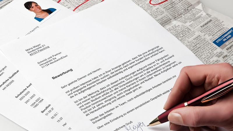 schriftliche bewerbung so sieht die perfekte bewerbung aus - Bewerbung Aus Ungekundigter Stellung
