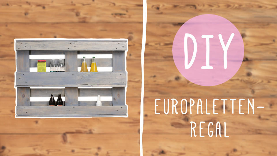DIY Regal Aus Europaletten