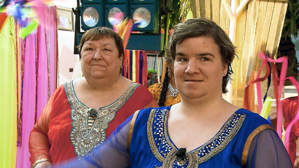 Beate & Irene auf Reisen: Mutter und Tochter im Bollywood