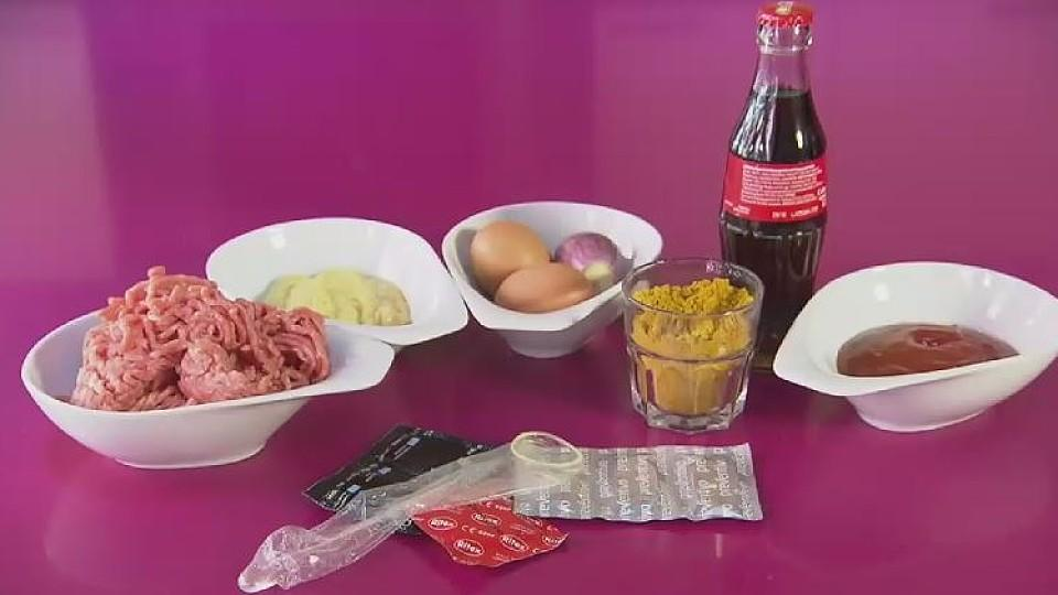 kochen im kondom rezepte f r bratwurst und erdbeer mascarpone terrine. Black Bedroom Furniture Sets. Home Design Ideas