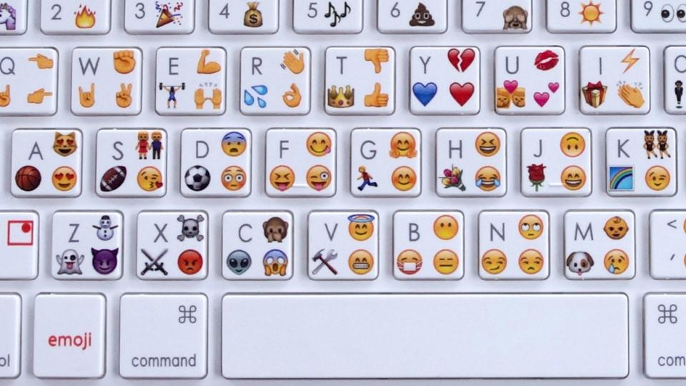 Emoji-Tastatur macht Smileys tippen am Computer ganz leicht