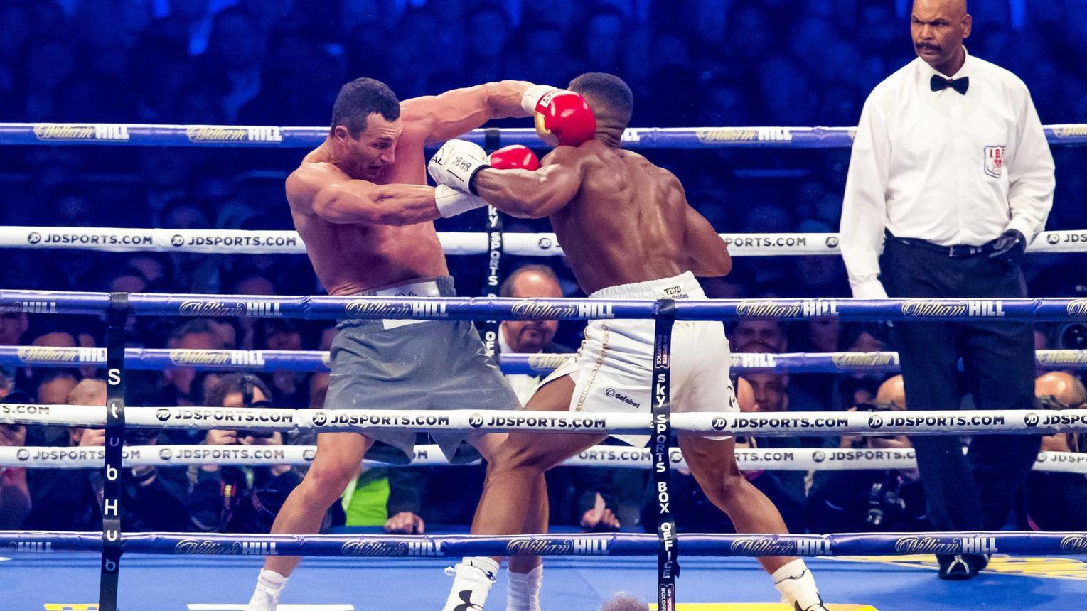 Boxen So Spektakulär War 5 Runde Zwischen Anthony Joshua Und