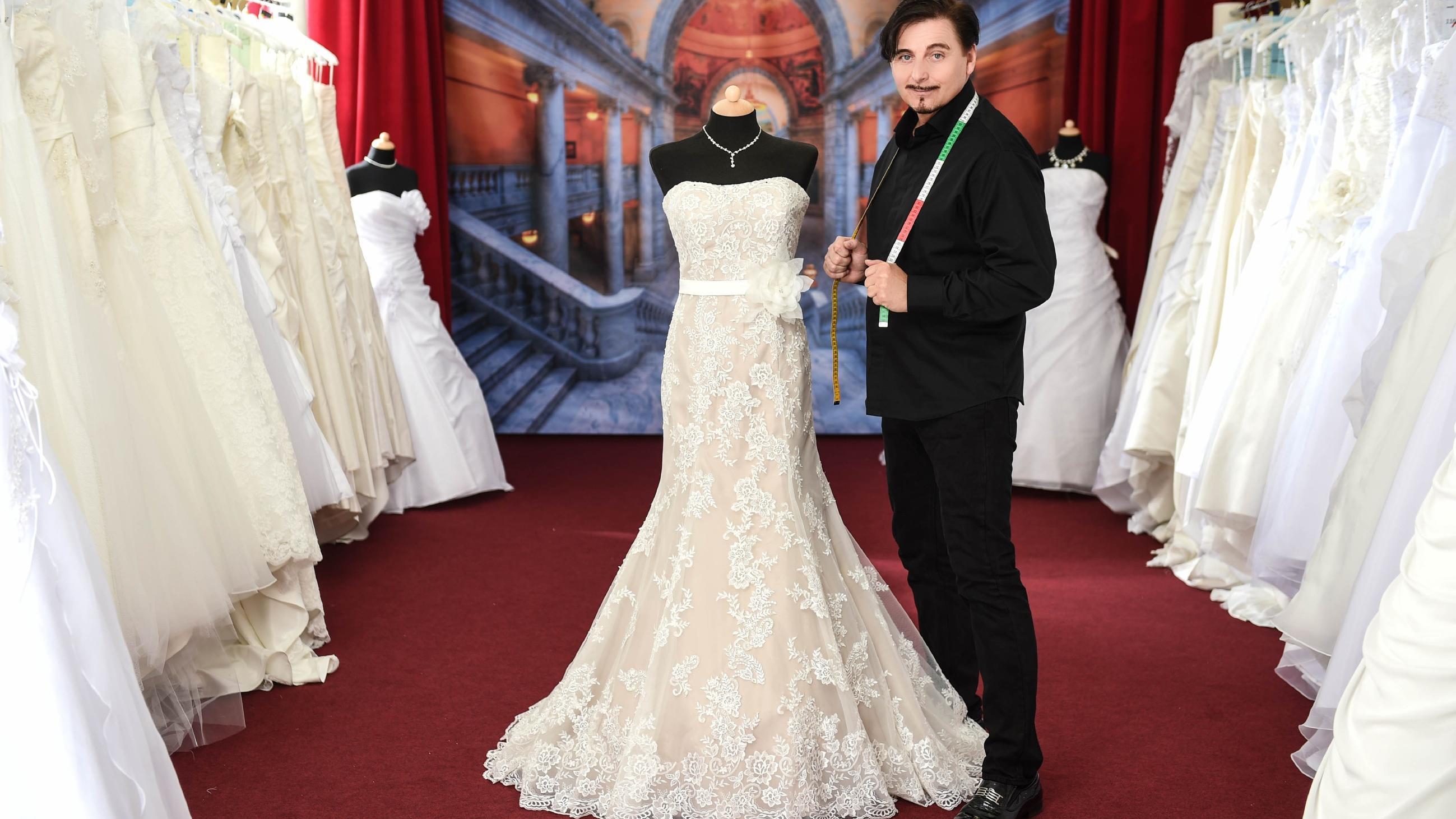Uwe Herrmann: Brautkleid-Papst verlangt Eintritt fürs Shopping