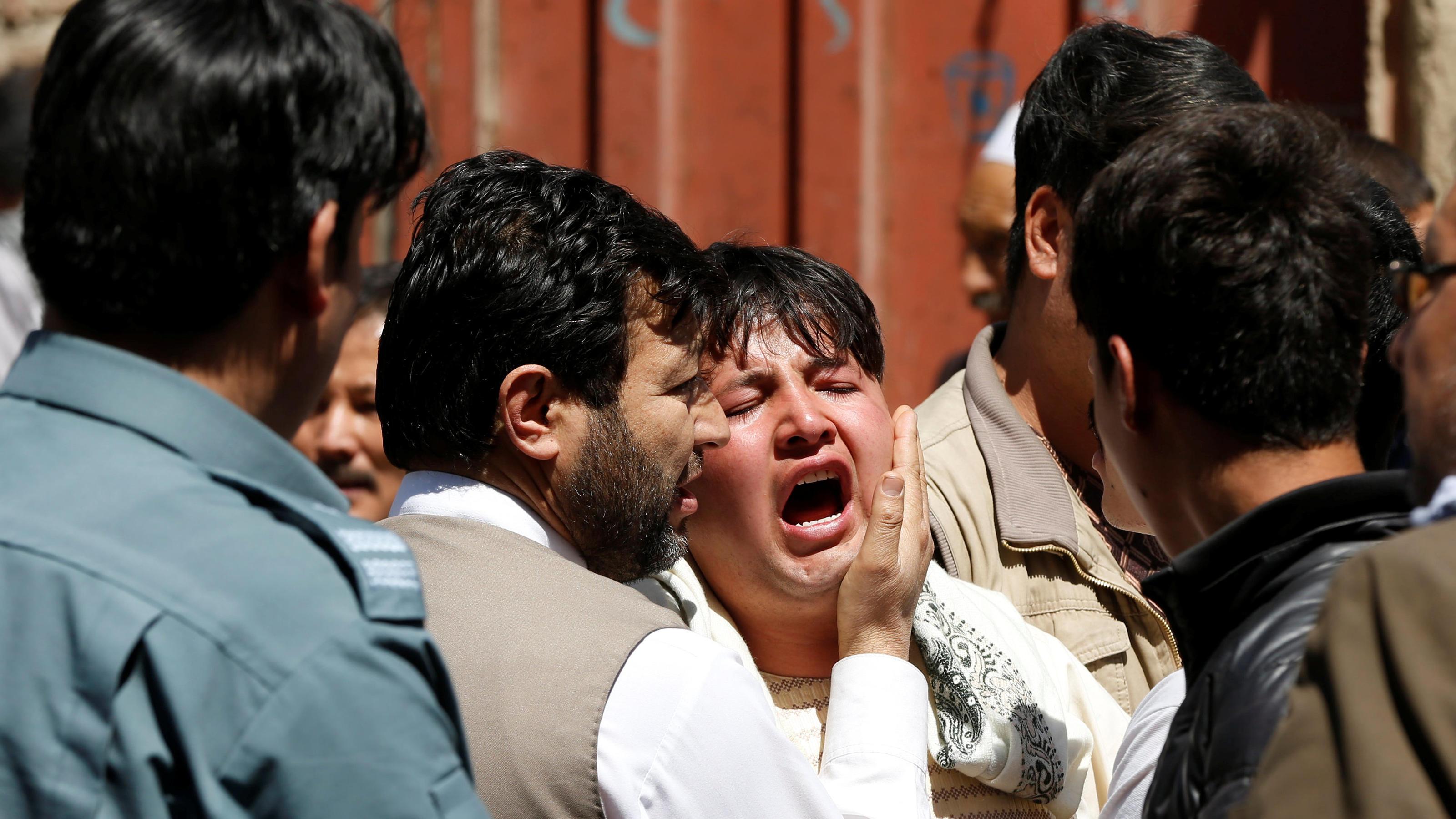 Selbstmordanschlag auf Zentrum für Wählerregistrierung in Kabul