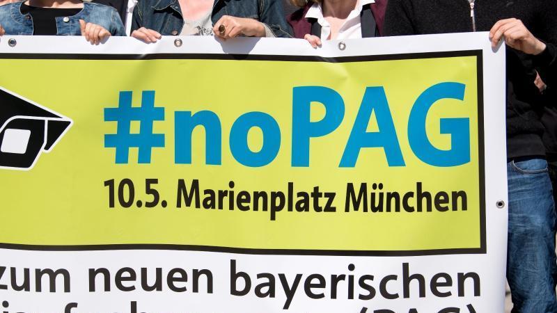 Demonstration gegen bayerisches Polizeiaufgabengesetz