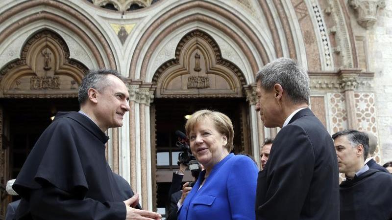 Kanzlerin erhält Friedenspreis in Assisi