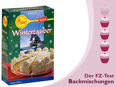 FZ Galerie Backmischungstest Kuchen Backen