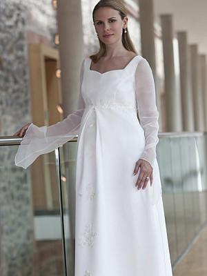 brautkleider für schwangere brautmode für werdende mütter