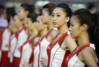 Grid Girls Singapur-GP 2012