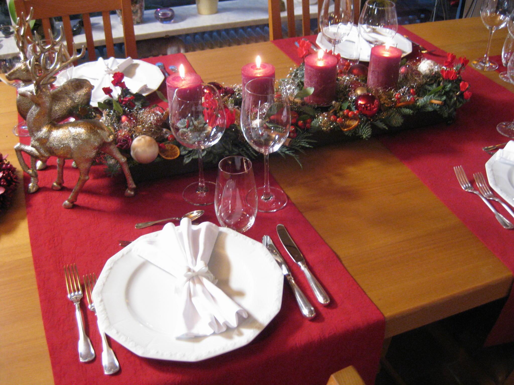Tischdeko zu weihnachten so wird ihre tafel ein fest - Weihnachts tischdeko ideen ...