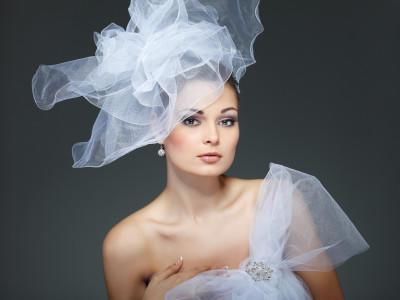Brautfrisuren mit schleier 2013