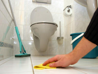 Bad Putzen hygiene im bad mit waschpulver richtig putzen