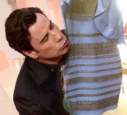 Kleid schwarz gold oder blau schwarz