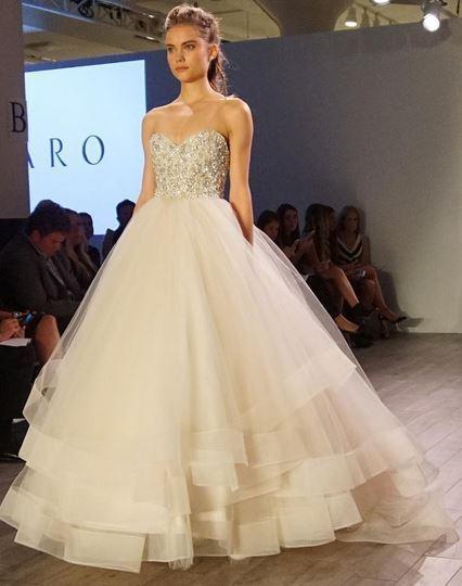 Brautmode 2016 - die schönsten Looks von der \'Bridal Fashion Week\'