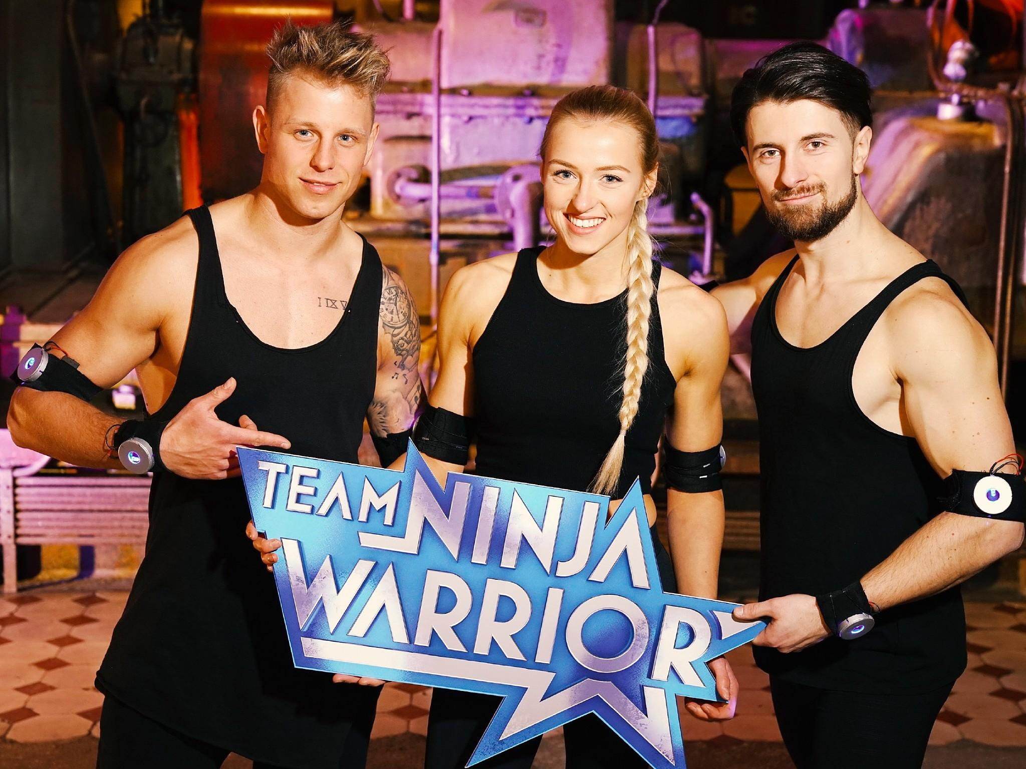 Team Ninja Warrior: Diese Teams treten in Show 1 an