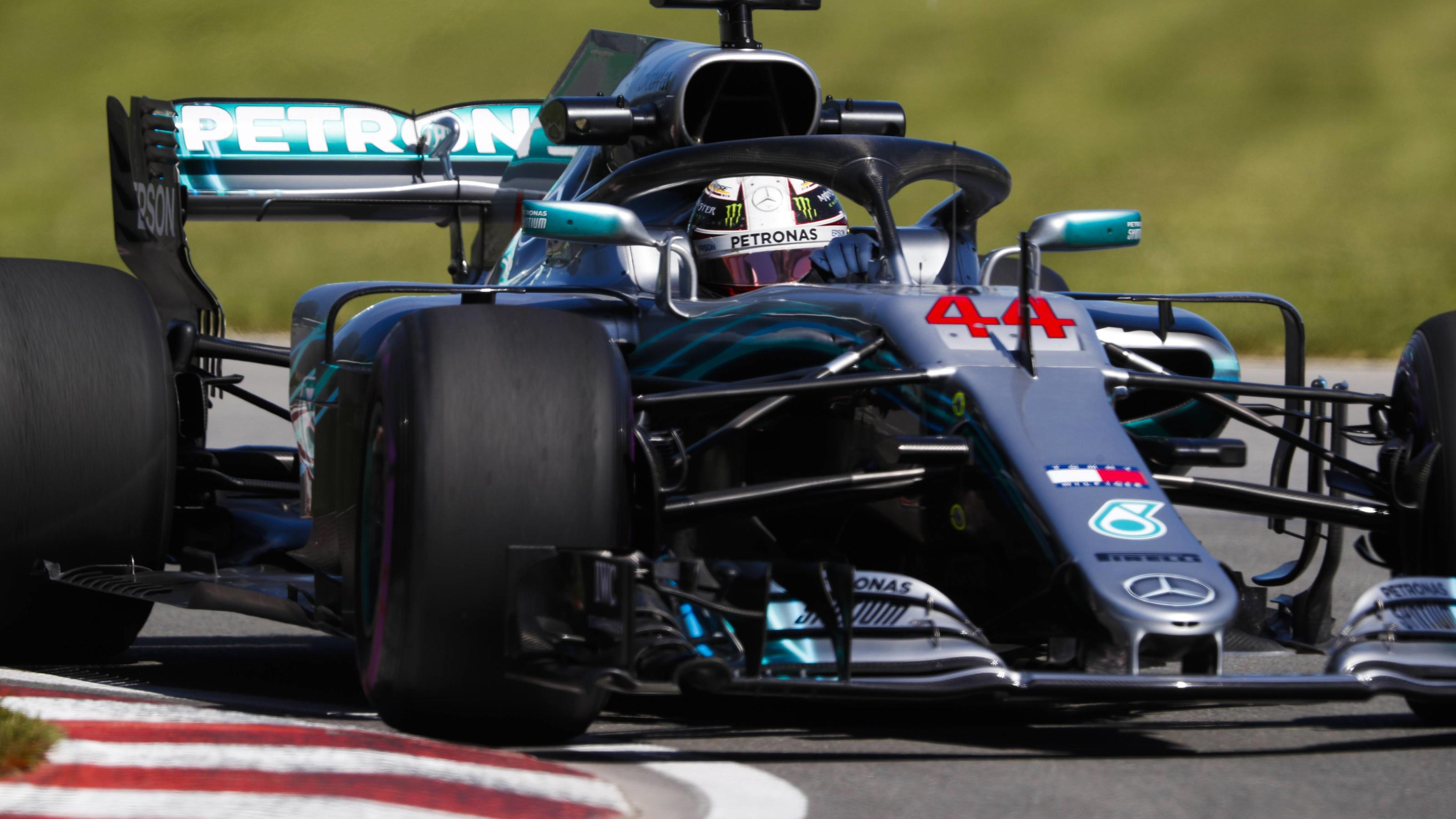 2018 Canadian GP CIRCUIT GILLES-VILLENEUVE, CANADA - JUNE 08: Lewis Hamilton, Mercedes AMG F1 W09 during the Canadian GP at Circuit Gilles-Villeneuve on June 08, 2018 in Circuit Gilles-Villeneuve, Canada. (Photo by Steven Tee / LAT Images) 1015289040