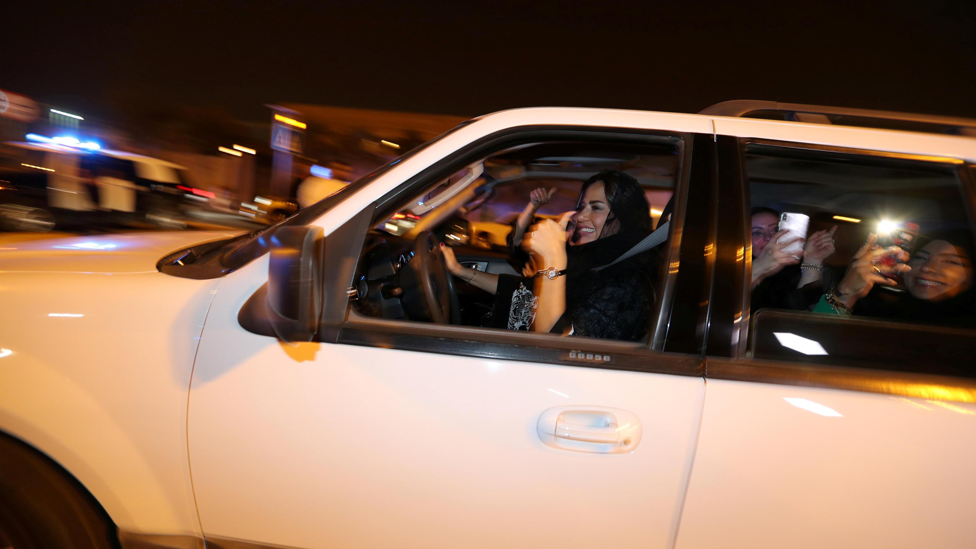 Saudi Arabien Frauen Auto