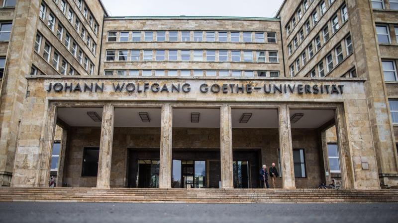 Die Goethe-Universität in Frankfurt am Main