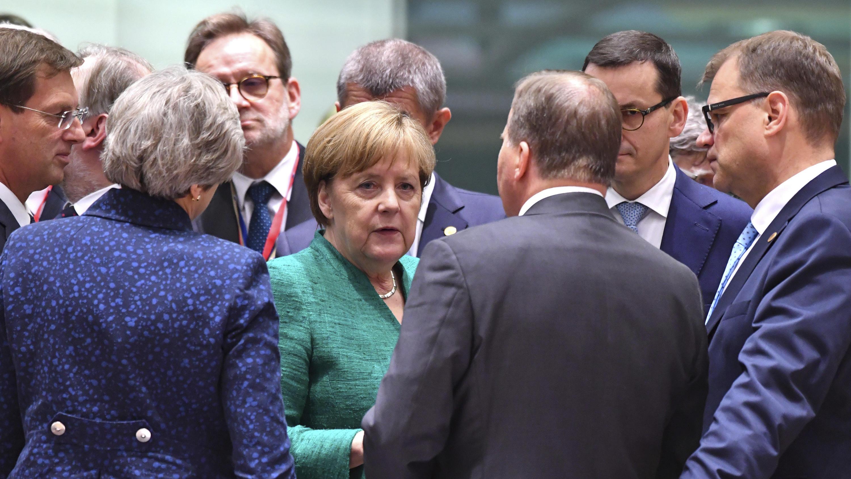 Asylpolitik: Gipfel der EU-Staats- und Regierungschefs in Brüssel