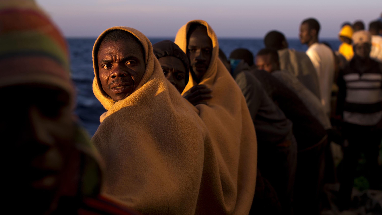 Mittelmeer: Libysche Flüchtlinge gerettet