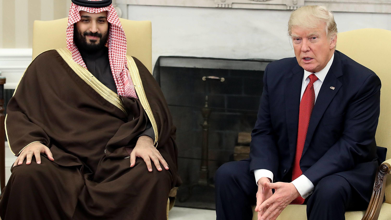 US-Präsident Donald Trump und Saudi-Arabiens Kronprinz Mohammed bin Salman