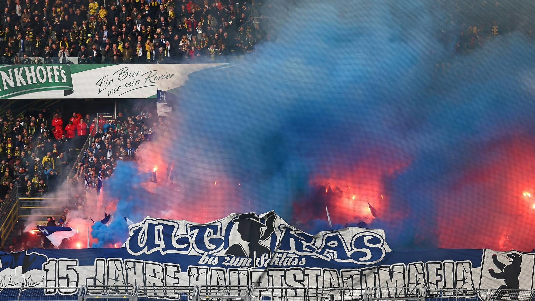 Image result for hertha ultras dortmund