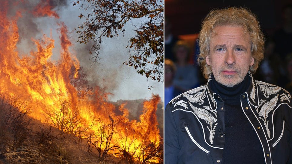 Thomas Gottschalk: Waldbrand in Malibu