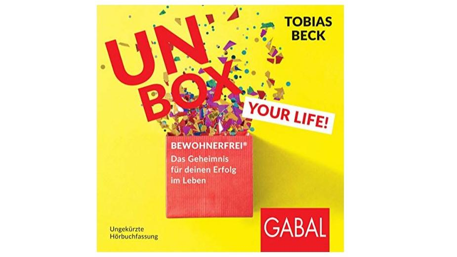 "Tobias Becks Hörbuch ""Unbox your Life"""