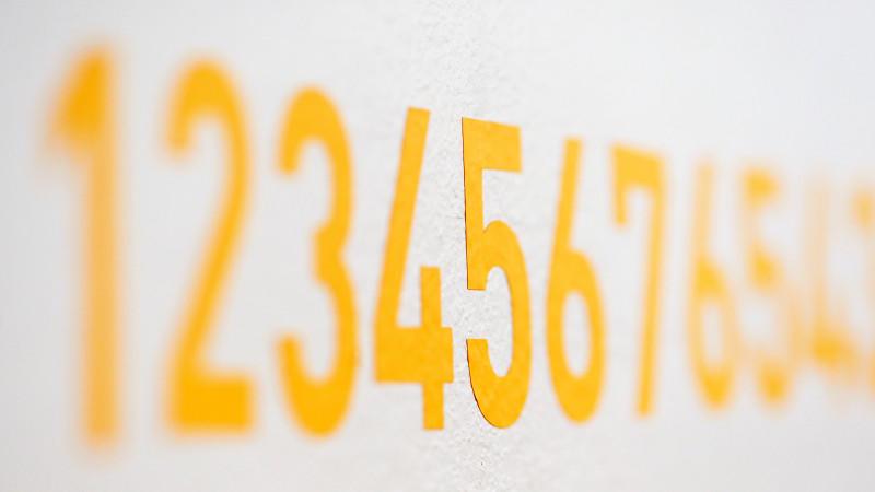 straßennummer mit buchstaben
