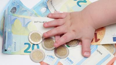Kindergeldauszahlungen