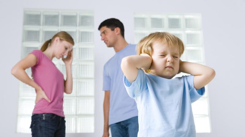 ссоры при детях