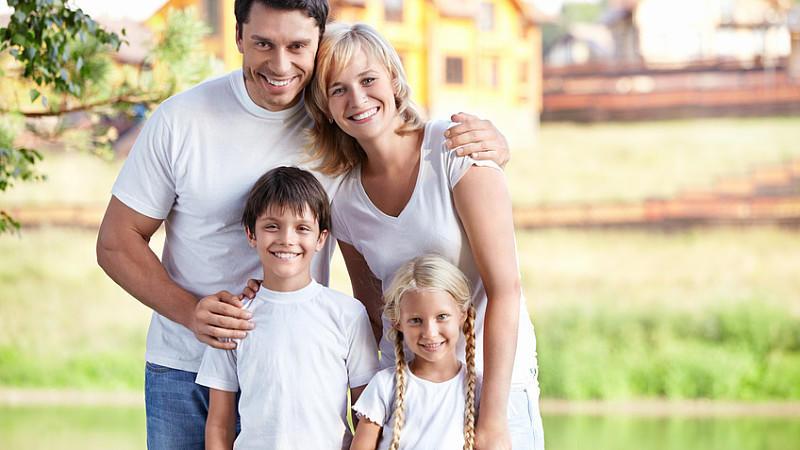 Glück: So sieht die perfekte Familie aus