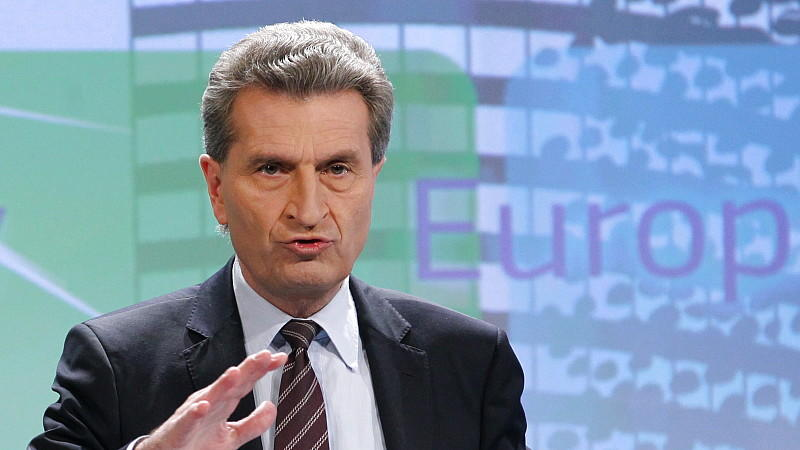 eu kommissar günther oettinger