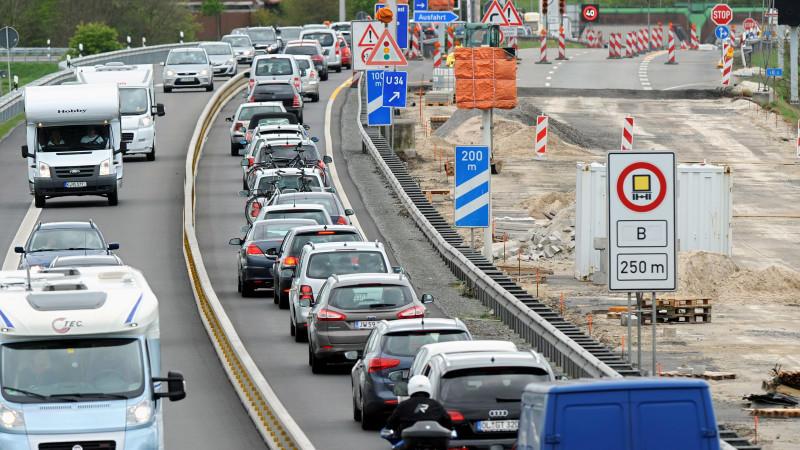 Aktuelle Baustellen Autobahn