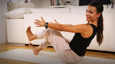 yoga bauch beine po workout f r zu hause. Black Bedroom Furniture Sets. Home Design Ideas