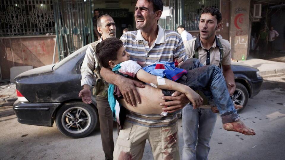 syrien krieg bilder
