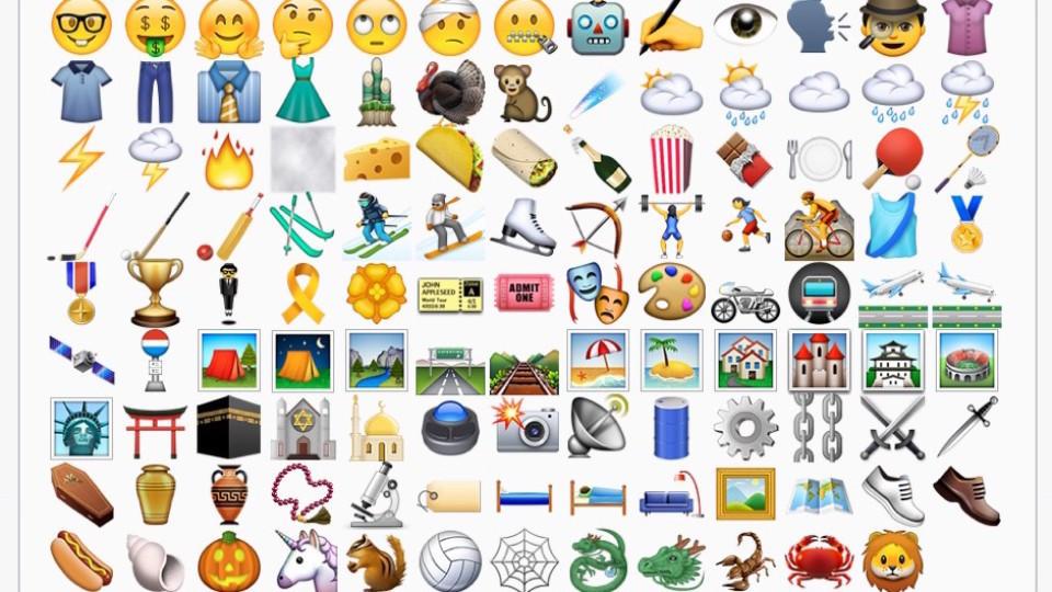 ganz neues einhorn emoji