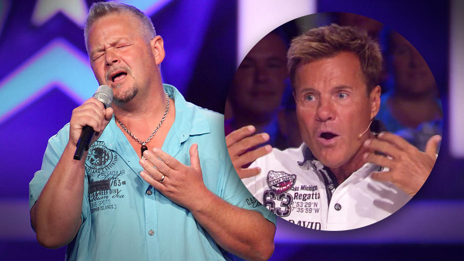 "Das Supertalent 2015: Manuel Dobler überrascht Dieter Bohlen mit seiner ""We Have A Dream""-Interpretation"