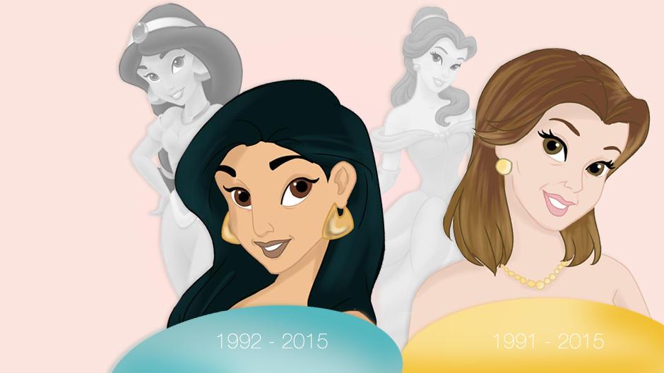 Beroemd Cinderella, Schneewittchen und Co.: So sähen Disney-Prinzessinnen  SD27