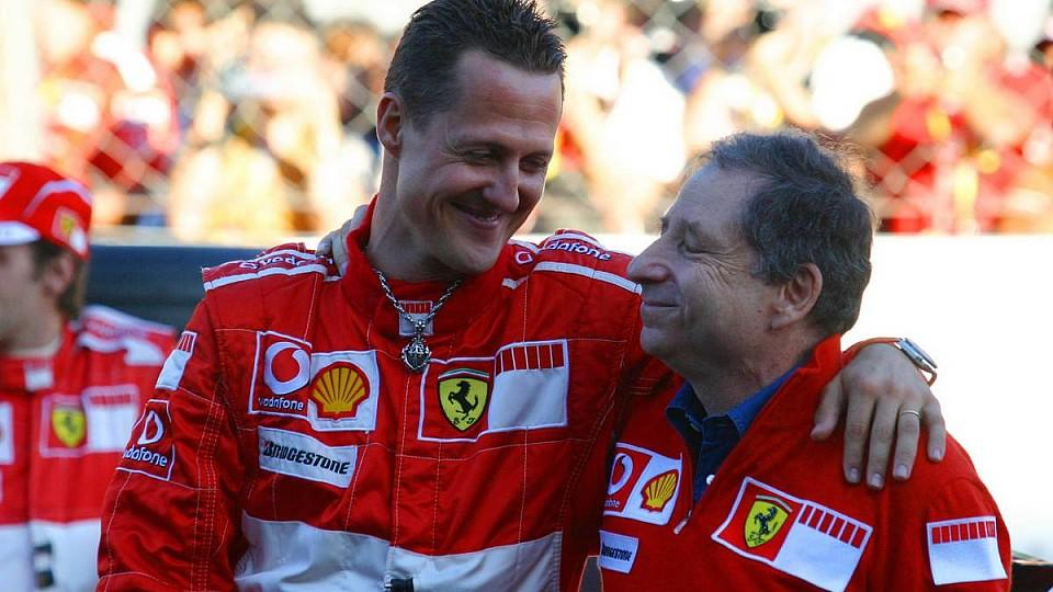 29.10.2006 Monza, Italy,Michael Schumacher (GER), Scuderia Ferrari and Jean Todt (FRA), Scuderia Ferrari, Teamchief, General Manager, Team Principal - Ferrari World Finals, Monza - www.xpb.cc, EMail: info@xpb.cc - copy of publication required for pri