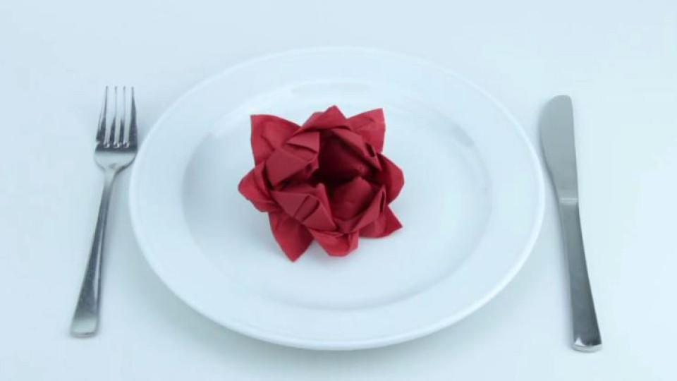 servietten falten die rose ist ein absoluter hingucker. Black Bedroom Furniture Sets. Home Design Ideas