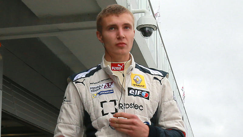 FILE - 06/23/2013 Russia's Sergei Sirotkin before competing in a qualifying race during the Russian stage of the Eurocup Formula Renault 2.0 series held at the Moscow Raceway, near the village of Fedyukovo, in the Volokolamsky District. Photo: Vitali