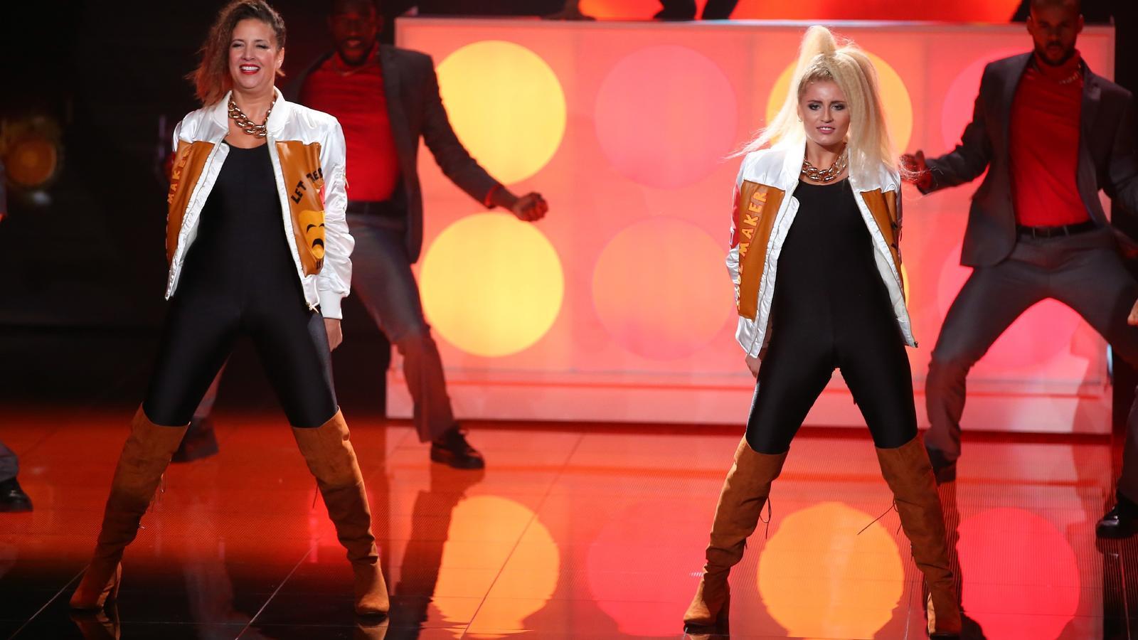 dance dance dance 2016 dana und luna schweiger scheiden in der zweiten show aus