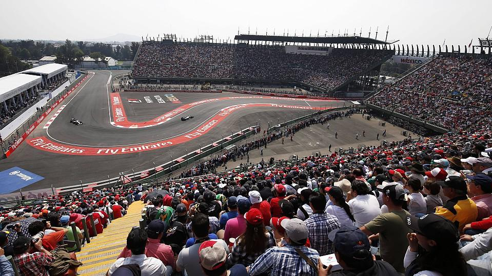 Autodromo Hermanos Rodriguez in Mexico City